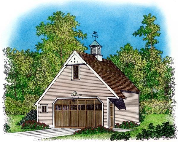 Garage Plan 86041