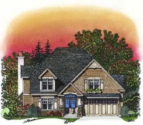 Plan Number 86042 - 2785 Square Feet