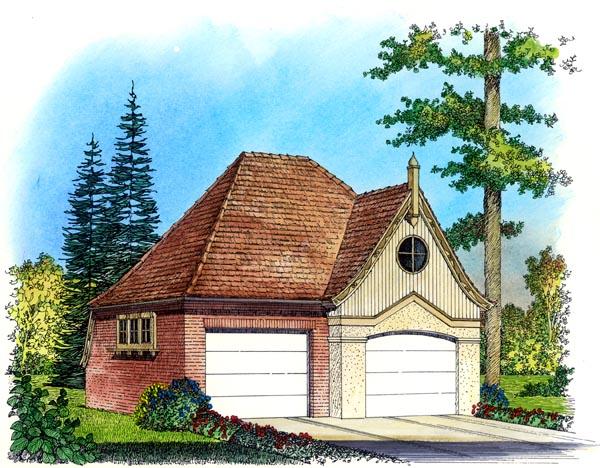 Garage Plan 86057