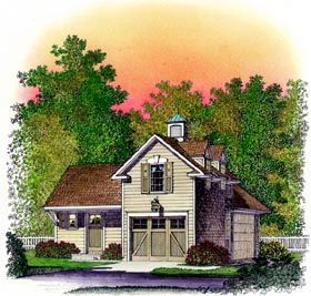 Plan Number 86064 - 462 Square Feet