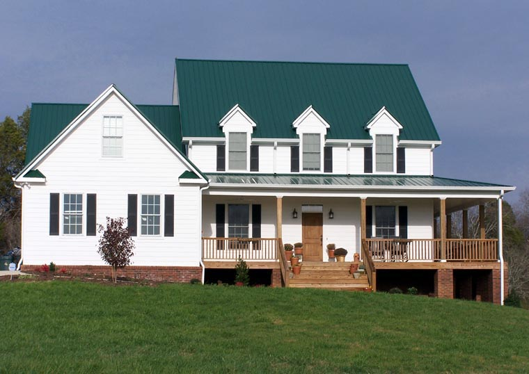 Country, Farmhouse, Southern House Plan 86162 with 4 Beds, 4 Baths, 2 Car Garage Picture 8