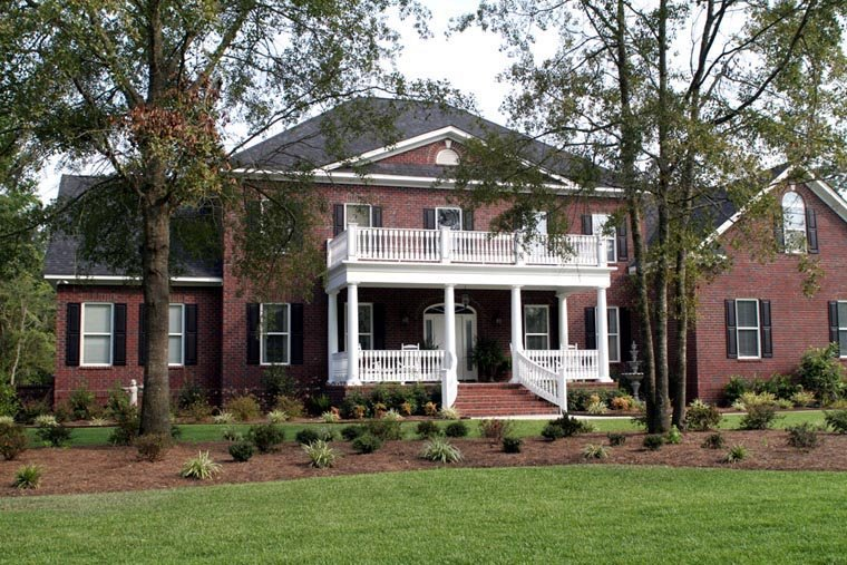 Colonial, Plantation House Plan 86207 with 4 Beds, 5 Baths, 3 Car Garage Picture 1