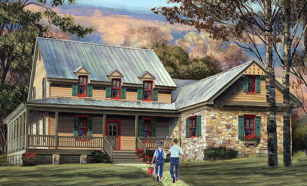House Plan 86355