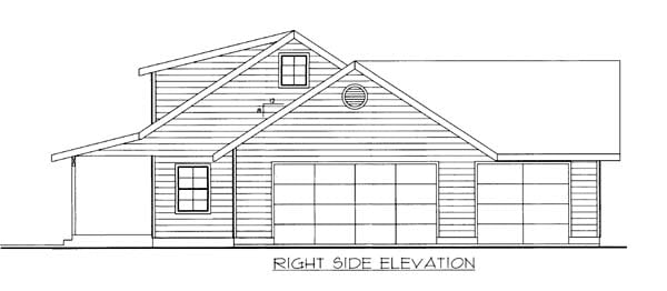 House Plan 86561 with 2 Beds, 2 Baths, 3 Car Garage Picture 2