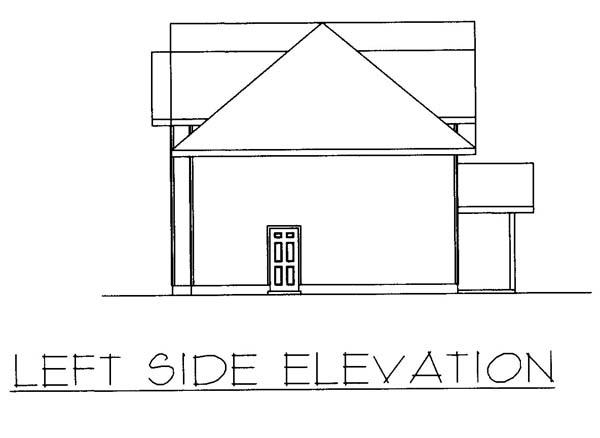 3 Car Garage Plan 86869, RV Storage Picture 1