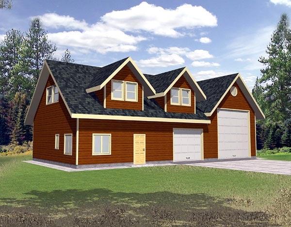Garage Plan 86888