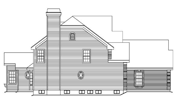 Traditional House Plan 86963 with 4 Beds, 4 Baths, 1 Car Garage Picture 1