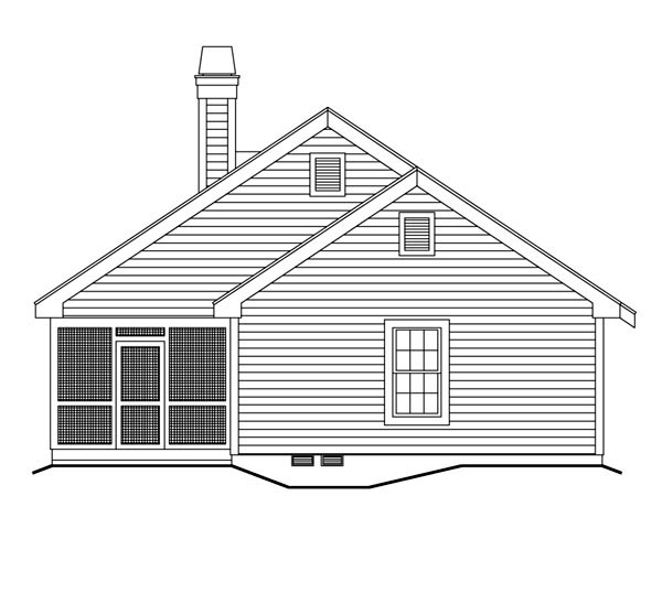 Cabin, Cottage, Country, Ranch, Traditional Multi-Family Plan 86978 with 2 Beds, 2 Baths Picture 1