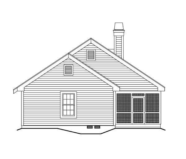 Cabin, Cottage, Country, Ranch, Traditional Multi-Family Plan 86978 with 2 Beds, 2 Baths Picture 2