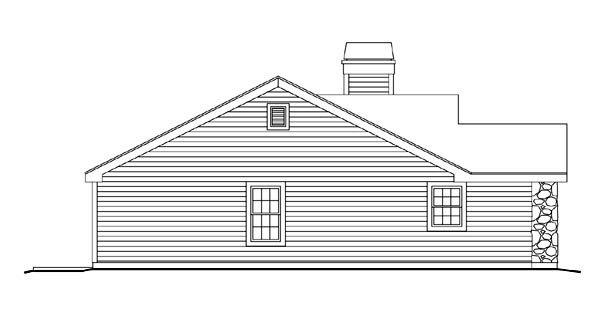 Cabin, Cottage, Country, Ranch, Traditional House Plan 86990 with 3 Beds, 2 Baths, 1 Car Garage Picture 1