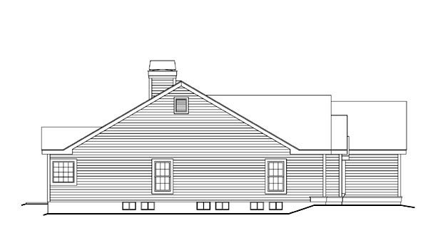Cape Cod, Country, Ranch, Traditional House Plan 86993 with 4 Beds, 3 Baths, 3 Car Garage Picture 1
