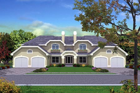 Multi-Family Plan 87349