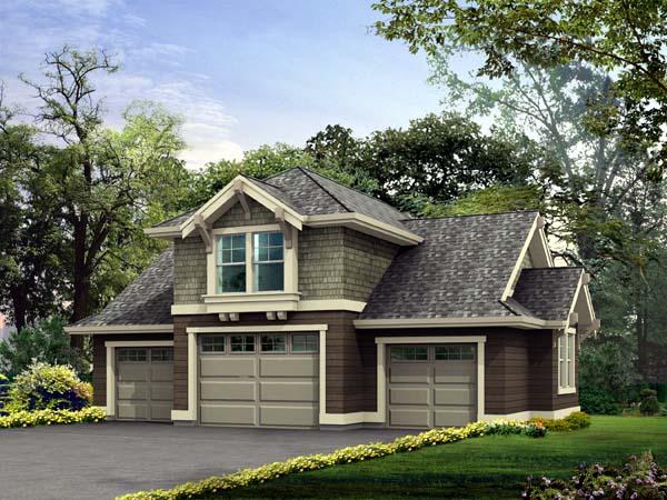 Garage Plan 87409