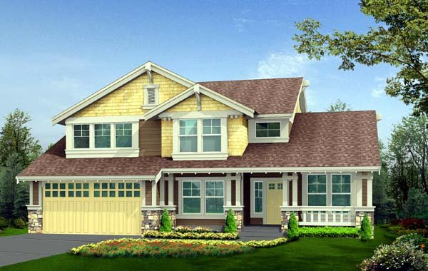 House Plan 87417