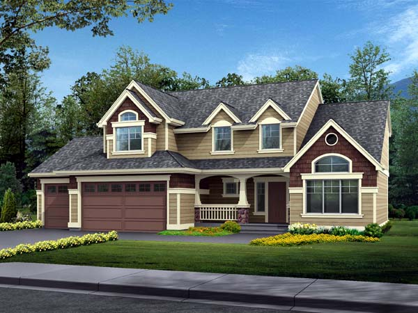 House Plan 87507