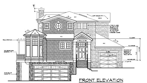 Contemporary, Southern House Plan 87571 with 4 Beds, 4 Baths, 3 Car Garage Picture 1