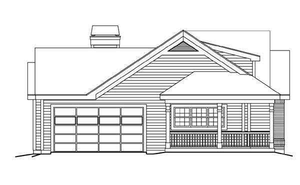 Bungalow, Country, Craftsman, Ranch House Plan 87811 with 3 Beds, 2 Baths, 2 Car Garage Picture 1