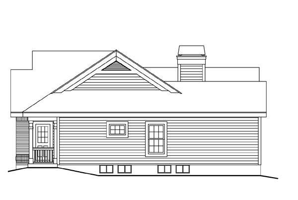 Bungalow, Country, Craftsman, Ranch House Plan 87811 with 3 Beds, 2 Baths, 2 Car Garage Picture 2