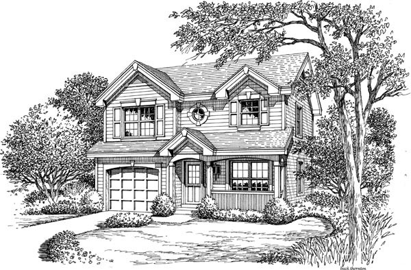 Country, Traditional House Plan 87819 with 2 Beds, 3 Baths, 1 Car Garage Picture 3