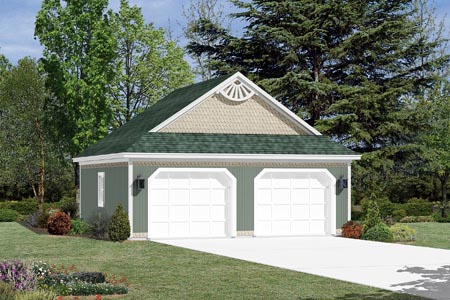 Garage Plan 87840