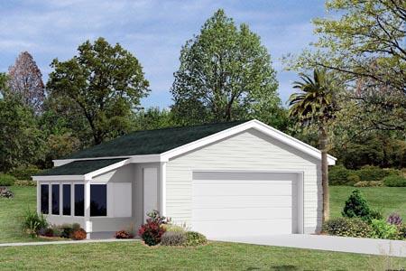 Garage Plan 87851