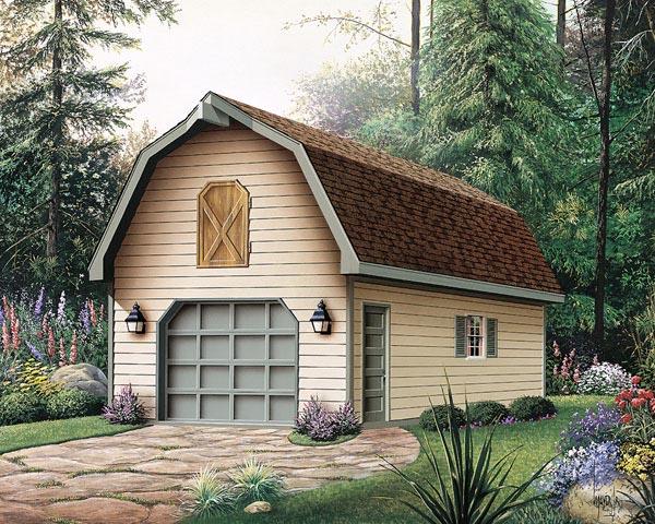 Garage Plan 87865