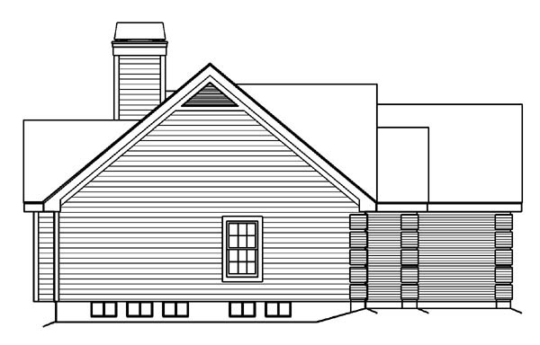 Bungalow, Country, Ranch, Traditional House Plan 87889 with 4 Beds, 3 Baths, 2 Car Garage Picture 1