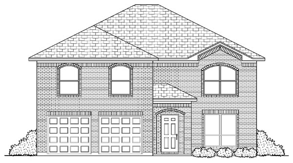 European House Plan 87914 with 6 Beds, 4 Baths, 2 Car Garage Elevation