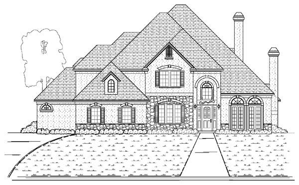 House Plan 87932