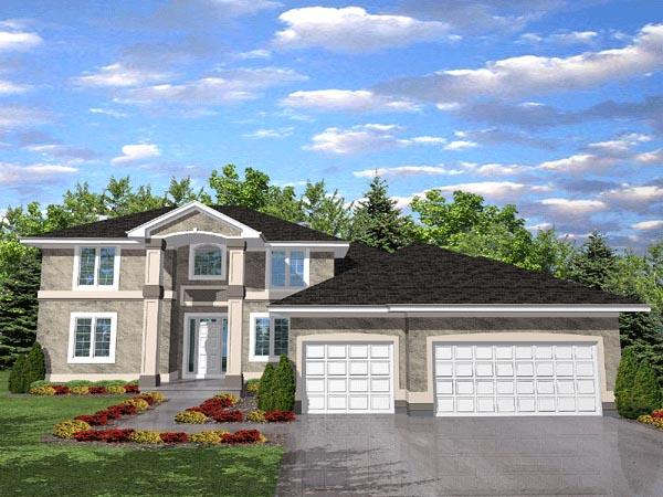 House Plan 88023