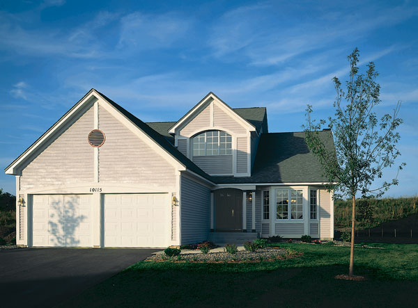 Country, Traditional House Plan 88154 with 3 Beds, 3 Baths, 2 Car Garage Front Elevation