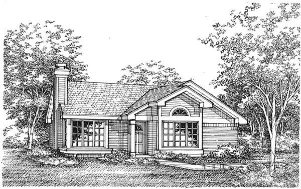House Plan 88170