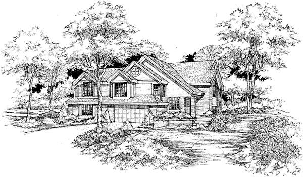 Multi-Family Plan 88244