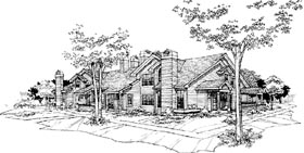 Plan Number 88412 - 4928 Square Feet