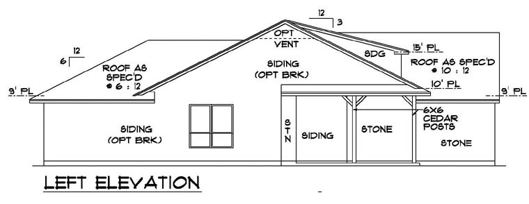 Craftsman, Farmhouse House Plan 88634 with 3 Beds, 2 Baths, 2 Car Garage Picture 1