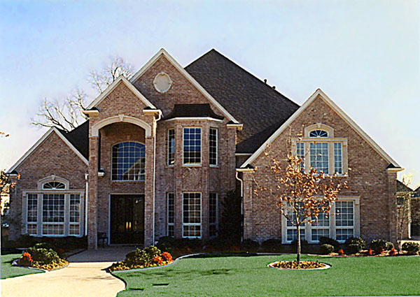 European, Tudor House Plan 89963 with 4 Beds, 4 Baths, 3 Car Garage Elevation