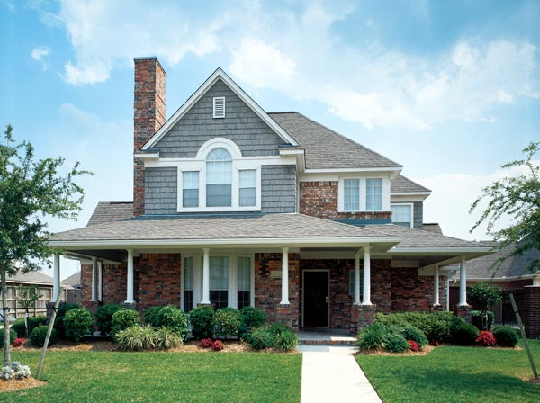 Country, Farmhouse, Victorian House Plan 90331 with 4 Beds, 3 Baths, 2 Car Garage Picture 1