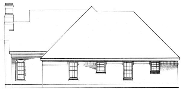 European, One-Story, Traditional House Plan 90361 with 3 Beds, 2 Baths, 2 Car Garage Picture 2