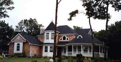 Victorian Plan with 2455 Sq. Ft., 4 Bedrooms, 3 Bathrooms, 2 Car Garage Picture 10