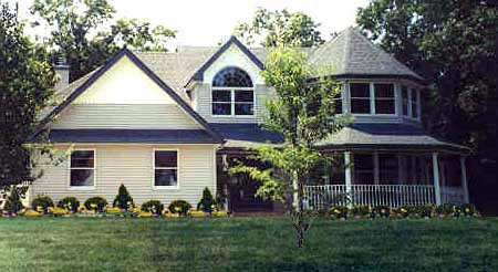 Country, Farmhouse, Victorian House Plan 90647 with 4 Beds, 3 Baths, 2 Car Garage Picture 1