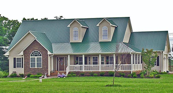 Country, Farmhouse, Ranch House Plan 90663 with 4 Beds, 3 Baths, 2 Car Garage Picture 1