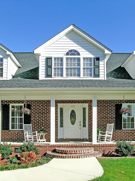 Country, Farmhouse, Ranch House Plan 90665 with 5 Beds, 4 Baths, 2 Car Garage Picture 2