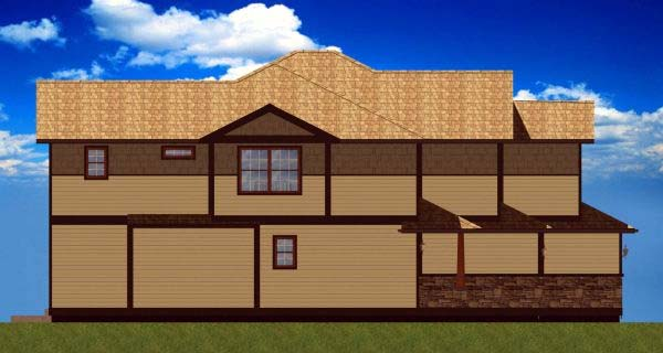 Craftsman Multi-Family Plan 90811 with 6 Beds, 6 Baths, 2 Car Garage Picture 1