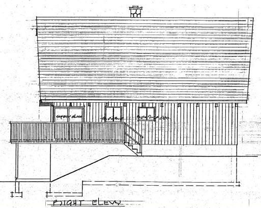 Cabin, Country House Plan 90822 with 3 Beds, 2 Baths Picture 3