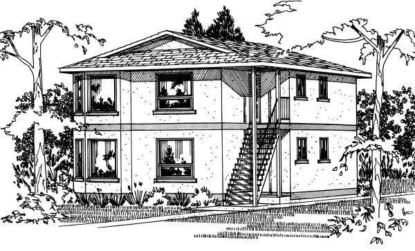 Multi-Family Plan 90862