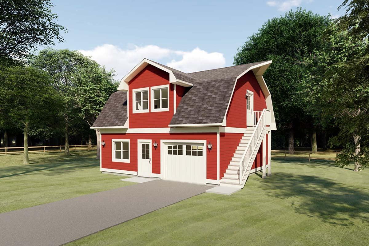 Garage Plan 90884