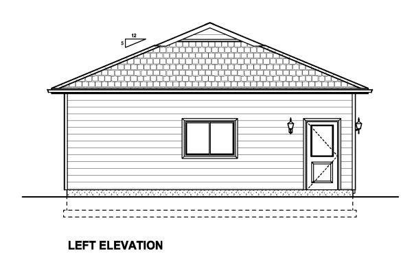 3 Car Garage Plan 90886 Picture 1