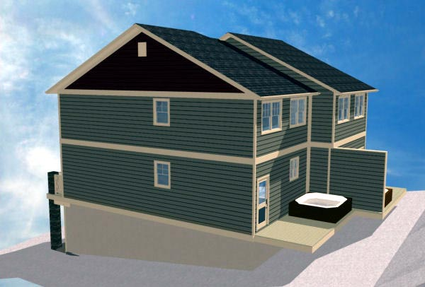 Multi-Family Plan 90887 with 8 Beds, 8 Baths, 2 Car Garage Picture 4