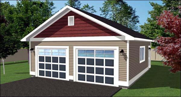Garage Plan 90893