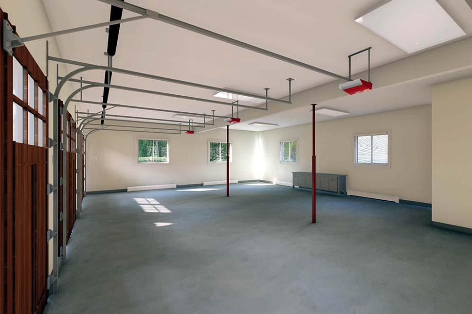 3 Car Garage Apartment Plan 90941 with 2 Beds, 1 Baths Picture 3